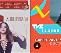 Gabily é Top 10 FM O Dia e TVZ